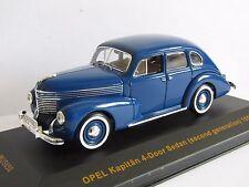 IXO OPEL KAPITAN 4 DOOR (SECOND GENERATION) 1950 BLUE MUSEUM 1/43 MUS050