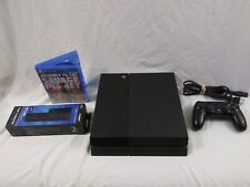 Sony PlayStation 4 500GB Black Console w/ Controller & Savage Planet