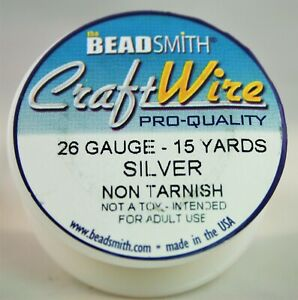 BeadSmith Craft Wire Pro Quality 26 Gauge