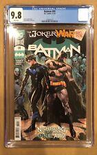 BATMAN # 99 CGC 9.8! JOKER WAR PART FIVE. (11/20).