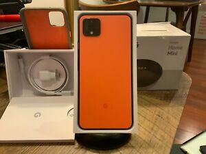 MINT Verizon Google Pixel 4 XL - 64GB - Oh So Orange - w bonus