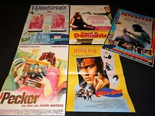 john waters lot 5 affiches cinema