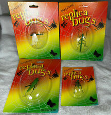 Fridge Magnets X 4 Dragonfly Locust Grasshopper Stick Insect Replica Bugs