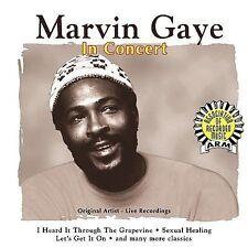 Music Legends: Marvin Gaye in Concert by Marvin Gaye Music CD, Jan-1999