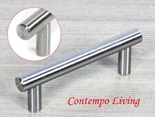 "4"" Solid Stainless Steel Kitchen and bathroom Cabinet Hardware Bar Pull Handle"