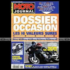 MOTO JOURNAL N°1460 HONDA GL 1500 GOLD WING, SUZUKI GS 1200 SS, LE TOUQUET 2001
