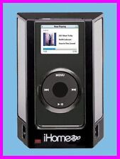 iHome2go iPOD NANO iHM1 SPEAKERS with SRS TruBass and WR CASE iHome iHM1B NEW