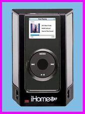 * iHome2go iPOD NANO iHM1 Speakers with SRS TruBass + WR Case iHome iHM1B NEW *