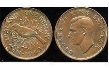 NOUVELLE ZELANDE 1 penny 1943   ANM