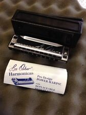 Lee Oskar Harmonica  In Low F  Delivered by Guitars Wales