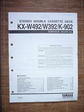 Manual de servicio para yamaha kx-w492/w392/k-902, original