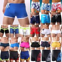 Men Underwear Boxer Shorts Briefs Trunks Underpants Beach Swimming Short Pants