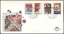 Netherlands 1977 Dangers To Children FDC First Day Cover #C27611