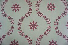 Cole & Son Wallpaper CLANDON Khaki Cranberry English Country Design Stencil