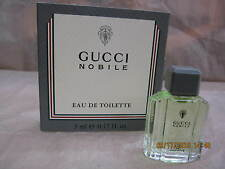 GUCCI NOBILE FOR MEN 0.16 oz / 5 ML EDT Miniature New In Box