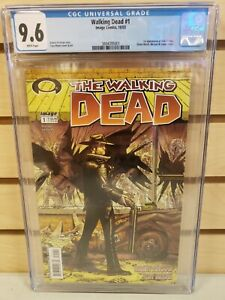 The Walking Dead #1 2003 IMAGE Comics CGC 9.6