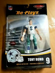TONY ROMO Re-Plays Extreme UNRELEASED GraceLyn Figure NFL Dallas Cowboys RARE!!
