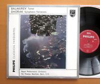 Balakirev Tamar Dvorak Symphonic Variations Beecham NEAR MINT Philips G 03629 L