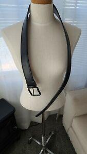 Levi's Mens large 38-40 black coated leather belt  q2