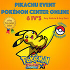 Pokémon ORAS – PIKACHU EVENT POKÉMON CENTER ONLINE 6IV's LEGIT - ANY NATURE