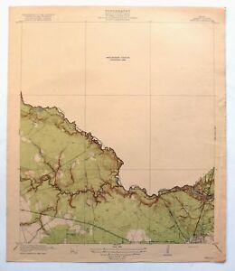1919 Weeden Texas Antique Original USGS Topographic Map Houston Humble Topo
