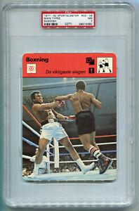1977-82 1979 Swedish Sportscaster 33-08 Muhammad Ali Leon Spinks PSA 7 Nr Mint