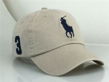 Polo Sport Baseball Cap with Beige Adjustable Hat Big Pony