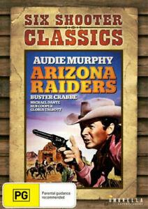Arizona Raiders | Six Shooter Classics (DVD) Audie Murphy NEW/SEALED