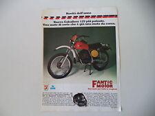 advertising Pubblicità 1976 FANTIC CABALLERO RC 125 REGOLARITA' COMPETIZIONE