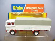 "VINTAGE DINKY TOYS MODEL No.940 MERCEDES BENZ  TRUCK  "" WHITE WHEELS ""   MIB"