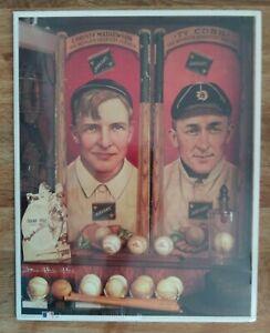"1993 MLB Baseball Print Reproductions No.11 ""CHRISTY AND TY"""