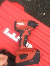 Hilti SID 4-A22 cordless impatto trapano/driver con 5.2ah batteria solo