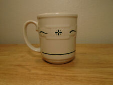 Longaberger Woven Traditions Heritage Green Mug NWOT