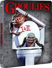 Ghoulies/ghoulies 2 Limited Edition Steelbook Blu-ray DVD 5037899065686