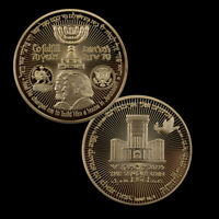 Israel Commemorative Metal Coin Collection Souvenir Challenge Coins for Gifts