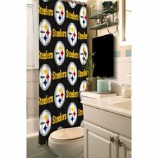 """Pittsburgh Steelers NFL Fabric Shower Curtain (72x72"""")"""""""