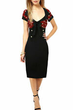 Plus Size Knee Length Wiggle, Pencil Dresses for Women