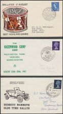 GB 1967/69 EVENT ILLUSTRATED COVERS (x3) WITH PICTORIAL POSTMARKS (ID:281/D47074