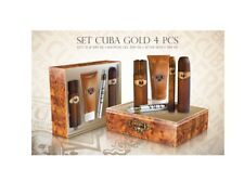 SET CUBA GOLD 100ML + 35ML + AFTERSHAVE + GEL DUCHA