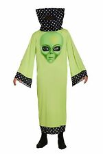 Adults Fancy Dress Alien with Jumbo Face Fun Costume Halloween