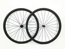 DT Swiss 370 Clincher 38mm Carbon Road Bike Wheelset 11 Speed  NEW!
