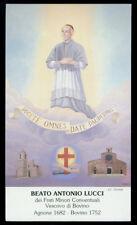 santino-holy card B.ANTONIO LUCCI