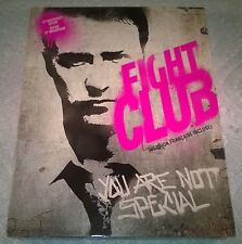 Fight Club (Blu-ray, 2009, Canada) 10th Anniversary Edition with Slipcover NEW