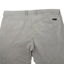 Hugo Boss Chino Pants Mens Rice Slim Fit Zip Fly Wheat Size 39 JE112