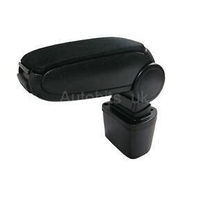 For Nissan Juke 2010 - 2019 Car Armrest Arm Rest + Assembly Set Black Textile