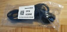 Genuine DELL Power cable IEC C13/UK plug 1.8m (0CK548) for PC/monitor/kettle etc
