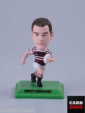 2008 Select NRL STARS COLOR FIGURINE No.17 Brett Stewart (Manly)