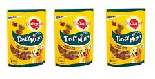 3 x Pedigree Tasty Minis - Dog Treats Chewy Cubes with Chicken and duck