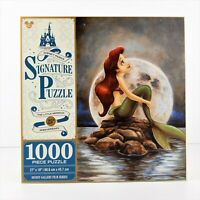 Disney Parks Signature Puzzle The Little Mermaid 25th Anniversary 1000 Pieces