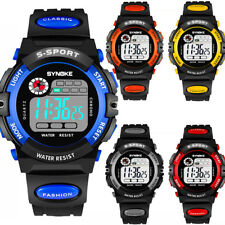 Kids Child Boy Girl Waterproof Multifunction Sports Electronic Watches Kids Gift